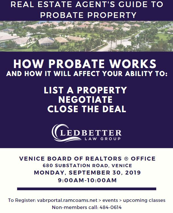 Real Estate Agent's Guide to Probate Property