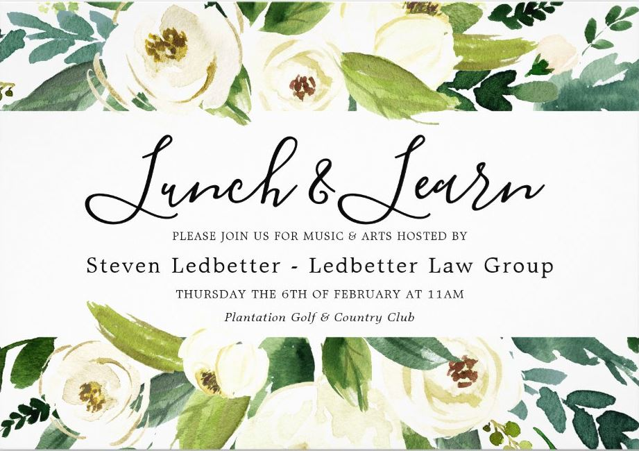 Invitation Lunch & Learn
